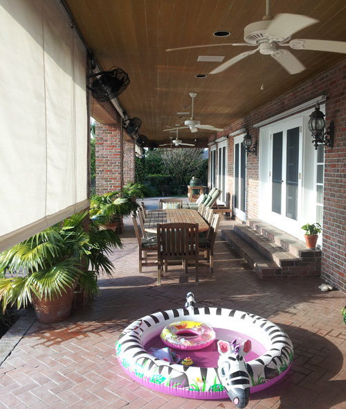 We use Air Flow in Mosquito Control in and near LakelandFlorida