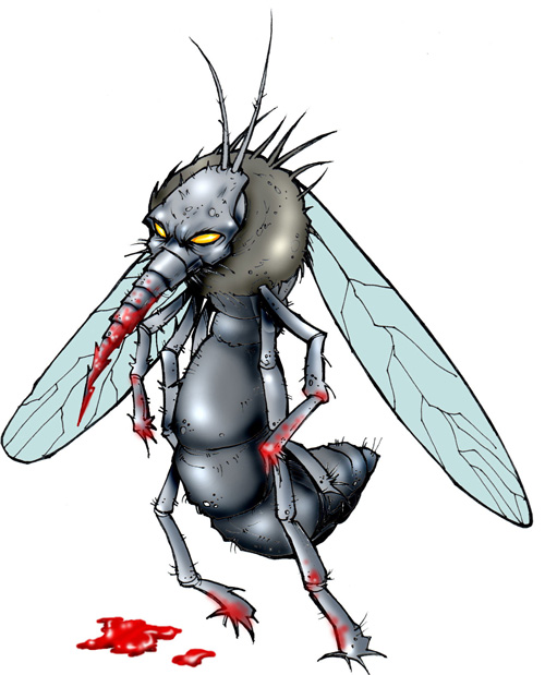 Female Mosquito Feeding Habits in and near Palm Harbor Florida